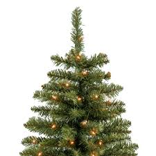 Silvertip Fir Christmas Tree by 7 5ft Hinged Fir Pencil Christmas Tree W Ul 588 Certified Lights