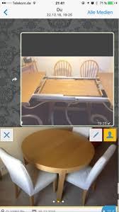 holz esszimmer tisch plus 5 holz stühle 10 schwing stühle