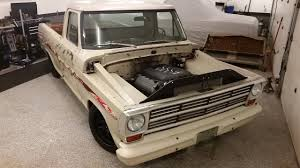 1969 Ford F100 5.0 Coyote Swap / 6-Speed Project