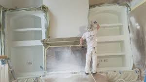 how professionals spray paint cabinets using cabinet coat by insl