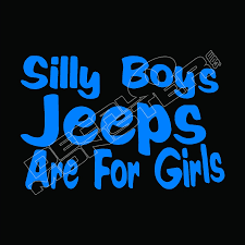 100 Truck Decals For Girls Silly Boys Jeeps Are For 2 DecalMonstercom