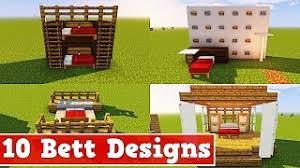 10 arten ein bett in minecraft zu bauen minecraft 10 bett design