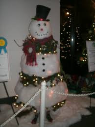 Frosty Snowman White Christmas Tree by Snowman Christmas Tree Peeinn Com