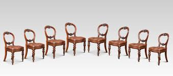 Set Of Eight Victorian Mahogany Balloon Back Dining Chairs Antique Victorian Ref No 03505 Regent Antiques Set Of Ten Mahogany Balloon Back Ding Chairs 6 Walnut Eight 62 Style Ebay Finely Carved Quality Four C1845 Reproduction Balloon Back Ding Chairs Fiddleback Style Table And In Traditional Living Living Room Upholstery 8 Upholstered Lloonback Antique French