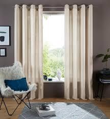 my home gardine rudy my home ösen 1 stück halbtransparenter stoff kaufen otto