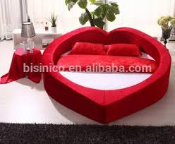 Heart Shaped Soft Bed Special Design Princess Bed Warm And