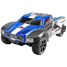 100 Best Rc Short Course Truck 110 Blackout SC 4WD Brushed RTR Blue RER07116
