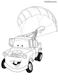 Cars 2 Francesco Bernoulli Coloring Pages Sketch Page