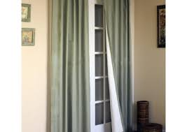 Making Curtains For Traverse Rods by Curtains Cooperstripefauxsilkwidewidthcurtainpanel Beautiful Tab