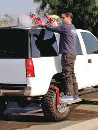 100 Truck Bumper Step Powerbuilt Folding Fits Over Tire To Clean Reach Roof
