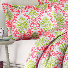 Coral Colored Bedding mizone katelyn twin xl comforter set coral free shipping
