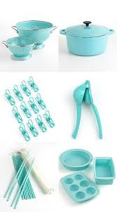 Turquoise Kitchen Cabinets Tiffany Blue Appliances