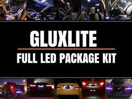 100 Cars N Trucks Full Interior License Plate LED Package Kit
