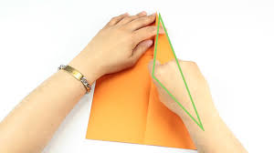 Fold The Flap Again Towards Middle Of Paper