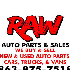 100 We Buy Trucks RAW AUTO PARTS Used Auto Parts Store In AUBURNDALE