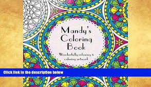 Price Mandy S Coloring Book Adult Featuring Mandalas Abstract And Floral Artwork Amy