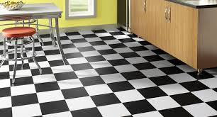 Checkerboard Vinyl Flooring For Trailers by Black White Checkerboard Sheet Vinyl Flooring Ourcozycatcottage Com
