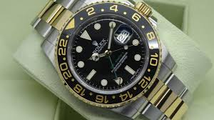 the beauty of rolex gmt master ii 116713ln black two tone 40 mm