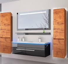 badmöbel sets mit doppelwaschbecken günstig kaufen ebay
