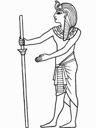 Ancient Egypt Coloring Sheets