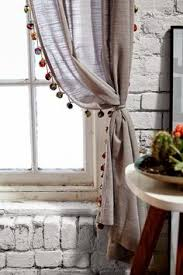 Plum And Bow Pom Pom Curtains by Blackout Pompom Curtain Witches Urban Outfitters And Choices