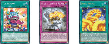 Yugioh Volcanic Deck April 2015 by Yu Gi Oh Trading Card Game Raging Tempest Burying The Middleman