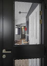 Expanded Metal Mesh as Inlay Gate Screen
