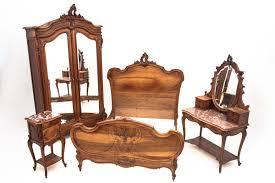 antikes schlafzimmer frankreich um 1890