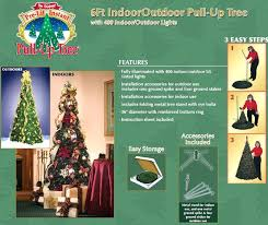 Easy Steps To Assemble A Pull Up Tree Decorative Christmas Stands Artificial Traditional