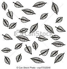 Fallen Leaves Stock Illustration