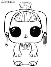 Bunny Wishes LOL Surprise Doll Pets Coloring Sheet