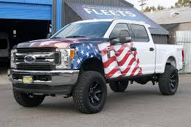 100 Truck Flag American Eagle Wrap Visual Horizons Custom Signs