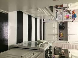 modern kitchen black and white striped kitchen vinyl flooring