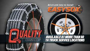 100 Truck Tire Chains Snow TravelCenters Of America