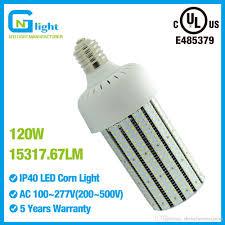347v led corn cob bulb 120w 6000k e39 mogul base corn led bulbs
