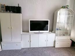 wohnzimmer schrank schrankwand ikea weiß wohnwand in bayern