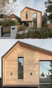 104 Contemporary Cedar Siding An Exterior Of Wood Protects This Modern House In Canada