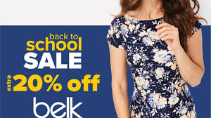 Belk Back To School Coupon Code: Extra 20% Off Regular ...