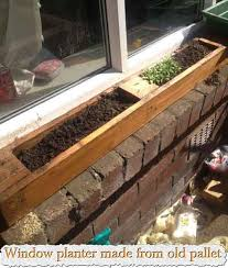 Related Posts Window Planter Made From Old Pallet