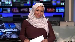 A Toronto Television Journalist