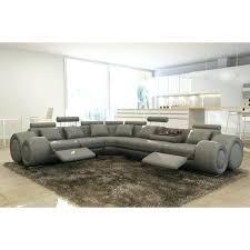 canapé sofa italien canape d angle 7 places cuir canape panoramique en cuir canapa sofa
