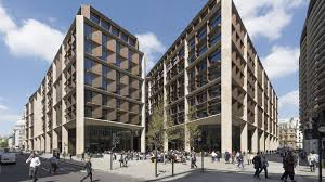 100 Architects Stirling Bloomberg HQ In London Wins Prize For Architecture