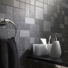 details zu schwarz glitzer fliesen tapete küche und badezimmer tiling on a roll 89240