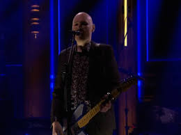 Smashing Pumpkins Guitarist Female by Watch The Smashing Pumpkins Go Electric On Fallon Acoustic On