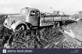 100 Eastern Truck And Trailer Stranded Truck On The Front 1942 Stock Photo 36991940 Alamy