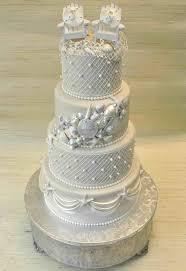 A Centerpieces Elegant Beach Wedding Cake Tiered For Great S Martha Stewart