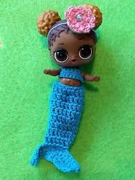 LOL Surprise Doll Big Sisters Handmade Clothing Mermaid Tail Outfit NO DOLL