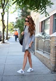 grey dress for fall dress pull u0026 bear sneakers adidas