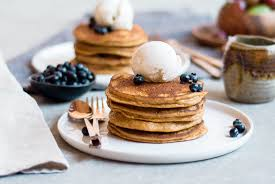 Easy Vegan Pumpkin Pancake Recipe by Best Paleo Pumpkin Pancakes Paleo Gluten Free Eats