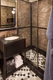 Tiled Bathroom At San Francisco Proper Hotel ... Nice Bathroom Design San Francisco Classic Photo 19 Of In Budget Breakdown A Duo Give Their Interior Company Regan Baker West Clay Grey And White Luxury Woodnotes Novelty Haas Lienthal House Victorian Bath San Francisco Otograph By Remodel Steam Shower Black Hex Floor Tiles Remodeling Pottery Barn Kids With Marble Tile Bathroom Rustic And Vanities Lovely Restoration Hdware Locationss Home Faucets New Traditional House Tour Apartment Therapy Reveal Meets Modern A